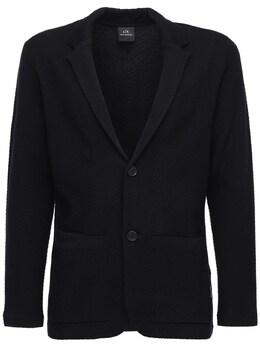 Полухлопковое Пальто Armani Exchange 72IHLF018-MTIwMA2