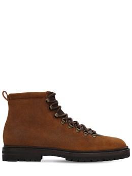 Ботинки Из Кожи Calaurio Manolo Blahnik 72IDWM002-MjExMw2