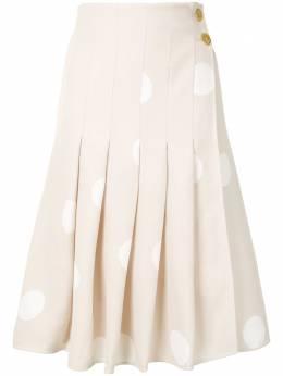 Proenza Schouler плиссированная юбка в горох R2115013BYP116