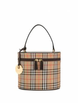Burberry Pre-Owned сумка Vanity в клетку Horse Check KU038AG54