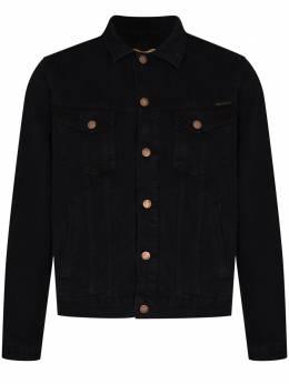 Nudie Jeans джинсовая куртка Bobby Black 160708