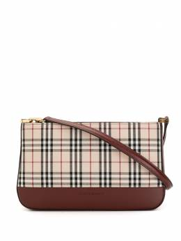 Burberry Pre-Owned сумка в клетку TI41100BE94