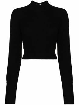 Reformation свитер Osteria с открытой спиной 1307143BLK