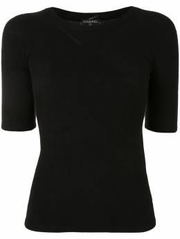 Chanel Pre-Owned футболка 2002-го года 02PP19803V0117094305