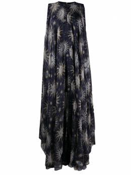 Maison Rabih Kayrouz расклешенное платье с принтом LD1251412