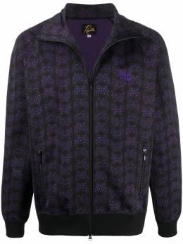 Needles спортивная куртка с принтом HM236