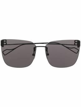 Balenciaga Eyewear солнцезащитные очки в квадратной оправе с логотипом BB BB0112SA