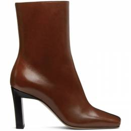 Wandler Black and Red Isa Boots 20210-041204