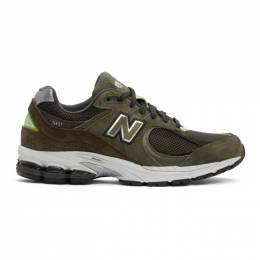 New Balance Green 2002 Sneakers ML2002RG