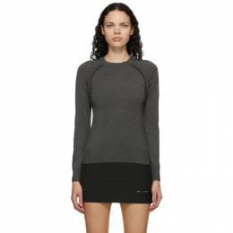 Sportmax Grey Wool Abete Sweater 23660106000 12187