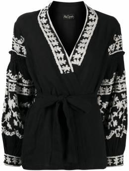 Mes Demoiselles блузка с вышивкой 20WMMDKW00043