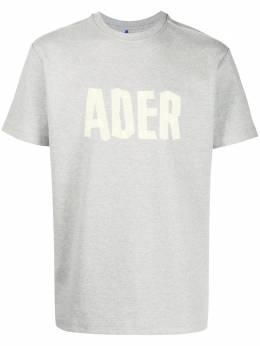 Ader Error футболка с логотипом BTAFWHT08GR