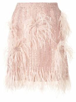Rachel Gilbert юбка Petunia со стразами 20SSRG70141