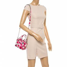 Kate Spade Multicolor Floral Print Coated Canvas Crossbody Bag 356552