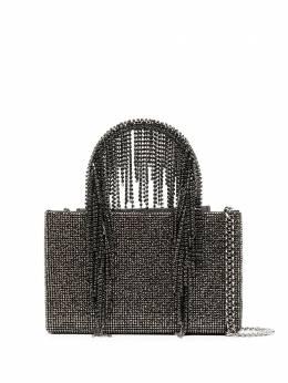 Kara сумка-тоут с заклепками и ремнем-цепочкой HB275A0422