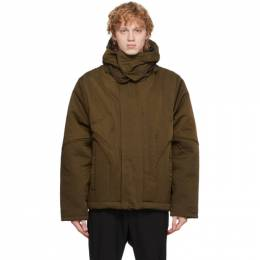 A-Cold-Wall* Brown Quilted Suilven Jacket ACWMO030