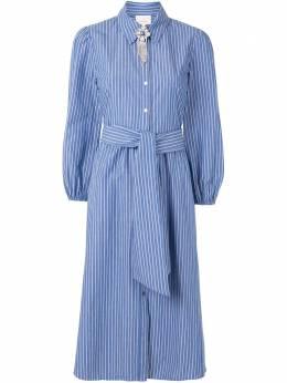 Cinq A Sept платье-рубашка в полоску ZD12453904Z