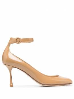 Francesco Russo туфли с ремешком на щиколотке FR35112A12082