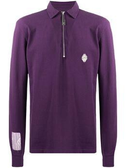 A-Cold-Wall* рубашка поло с воротником на молнии ACWEQ1PLS01