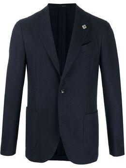 Lardini однобортный кашемировый пиджак IM934AIMA55540