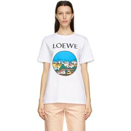Loewe White Ken Price Edition LA T-Shirt S897Y22X02