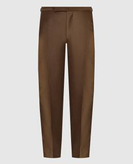 Коричневые брюки Tom Ford 2300005188276