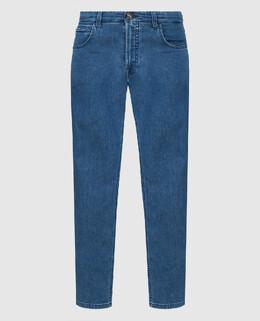 Синие джинсы Stefano Ricci 2300006421051