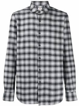 Xacus клетчатая рубашка на пуговицах 748ML71301