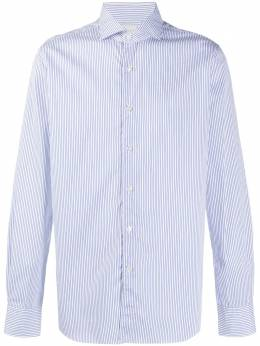 Xacus полосатая рубашка на пуговицах 722ML71417