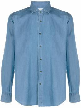 Xacus джинсовая рубашка на пуговицах BC748ML71741