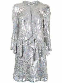Givenchy Pre-Owned платье с пайетками и оборками WW8245GVCHYDRESS