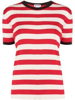 Sunnei футболка в полоску TWT01