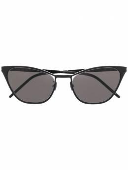 Saint Laurent Eyewear солнцезащитные очки в оправе 'кошачий глаз' SL409