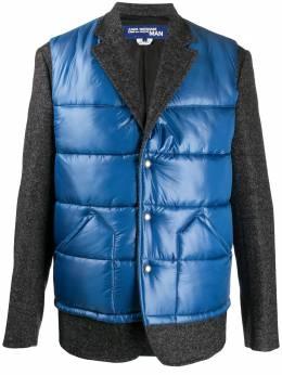 Junya Watanabe Man пиджак с дутыми вставками WFJ01205124