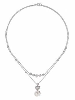 Yoko London колье Starlight из белого золота с жемчугом и бриллиантами Q2189NLET