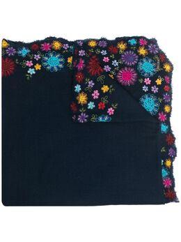 Faliero Sarti шарф с цветочной вышивкой I211012ROSSELLINA
