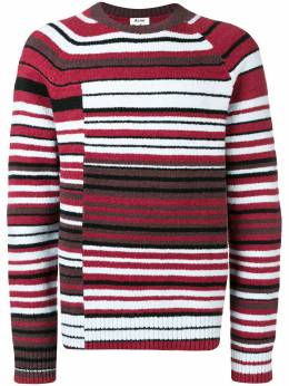 Acne Studios свитер с полосками B60026