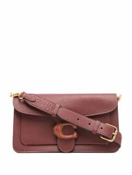 Coach сумка на плечо из зернистой кожи с логотипом 4607