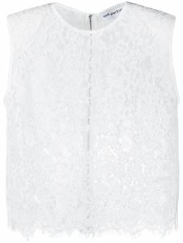 Self-Portrait кружевная блузка без рукавов RS21068L