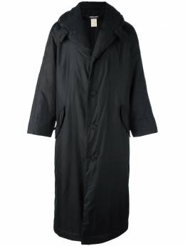 Issey Miyake Pre-Owned стеганое пальто MIY750