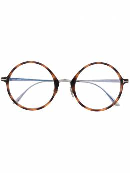 Tom Ford Eyewear очки FT5703B в круглой оправе
