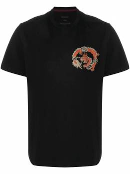 Maharishi футболка с вышитым логотипом 6350