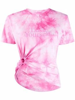 Paco Rabanne футболка Lose Yourself с принтом тай-дай 21PJTE045CO0392