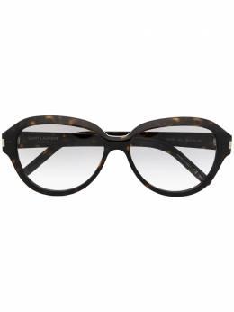 Saint Laurent Eyewear солнцезащитные очки в круглой оправе SL400