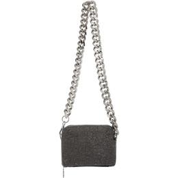 Kara Black Hematite Mesh Camera Bag HB262B-0422