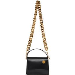 Kara Black Baby Pinch Chain Bag HB210B-0822