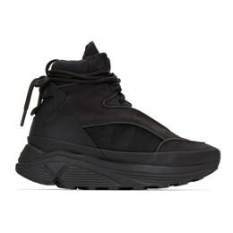 C2H4 Black Atom Alpha Lace-Up Boots R002-132