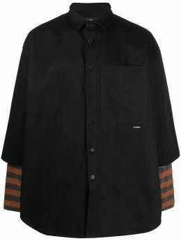 Sunnei рубашка оверсайз с короткими рукавами MS07BPTE812999