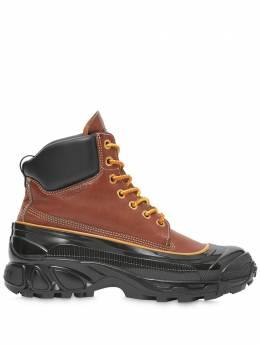 Burberry ботинки с контрастной подошвой 8031085