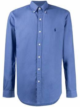Polo Ralph Lauren рубашка с длинными рукавами и вышитым логотипом 710723610010